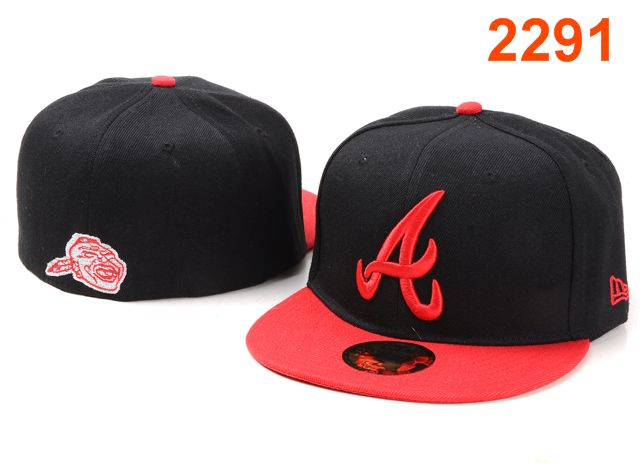 Atlanta Braves MLB Fitted Hat PT11